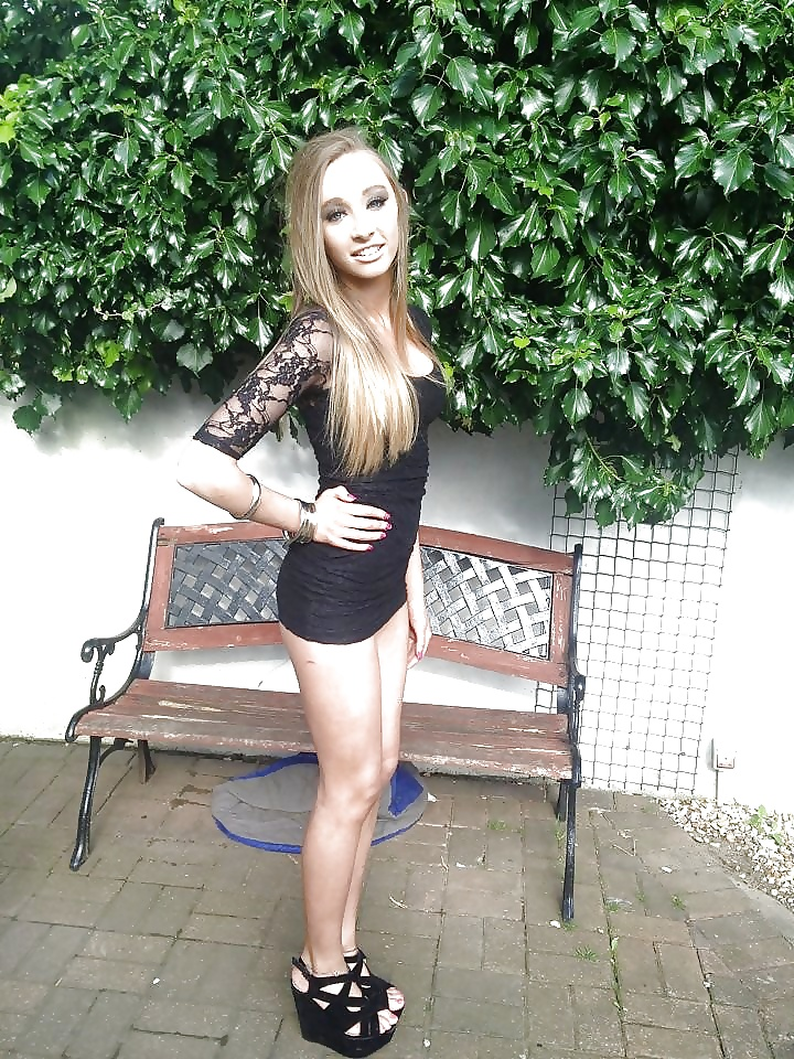 Young sexy and skinny teen