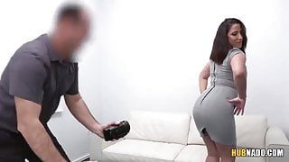 James Brossman fucks Adara Love at the casting couch